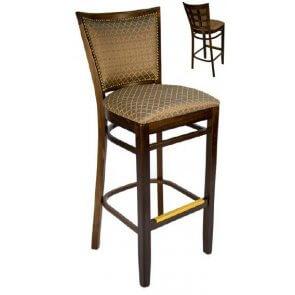 Upholstered Lattice Barstool