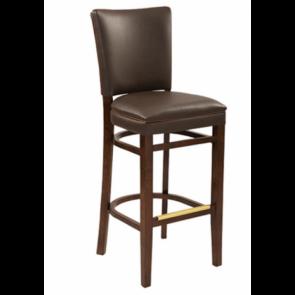 Designer Upholstered Barstool