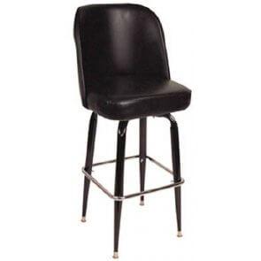ECO Bucket Style Retro Swivel Barstool (Front)